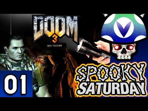 [Vinesauce] Joel - Spooky Saturday: Doom 3 BFG Edition ( Part 1 )