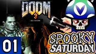 [Vinesauce] Joel - Spooky Saturday: Doom 3 BFG Edition ( Part 1 )