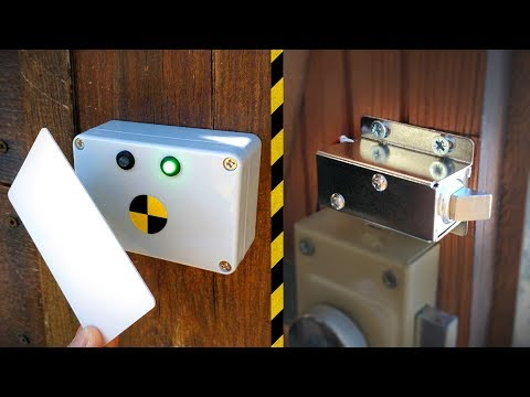 Fabriquer Une Serrure à Badge RFID ! - Vlog Bricolage #19