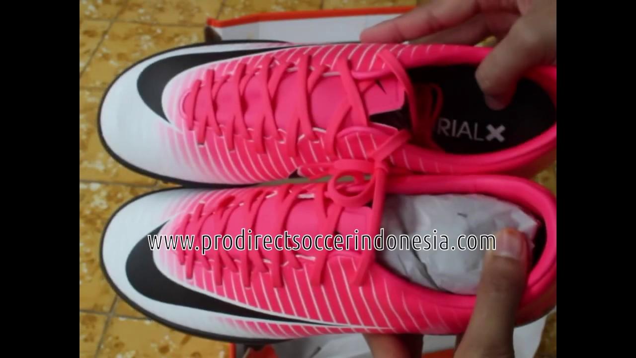 Sepatu Futsal Nike MercurialX Victory VI TF Racer Pink 831968 601 Original 28749ddb25