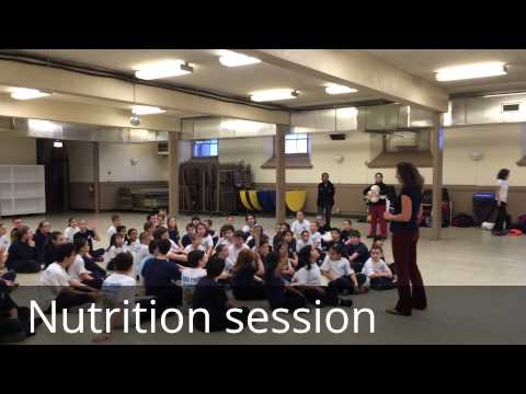 Meriden Saint Joseph School BOKS fitness program