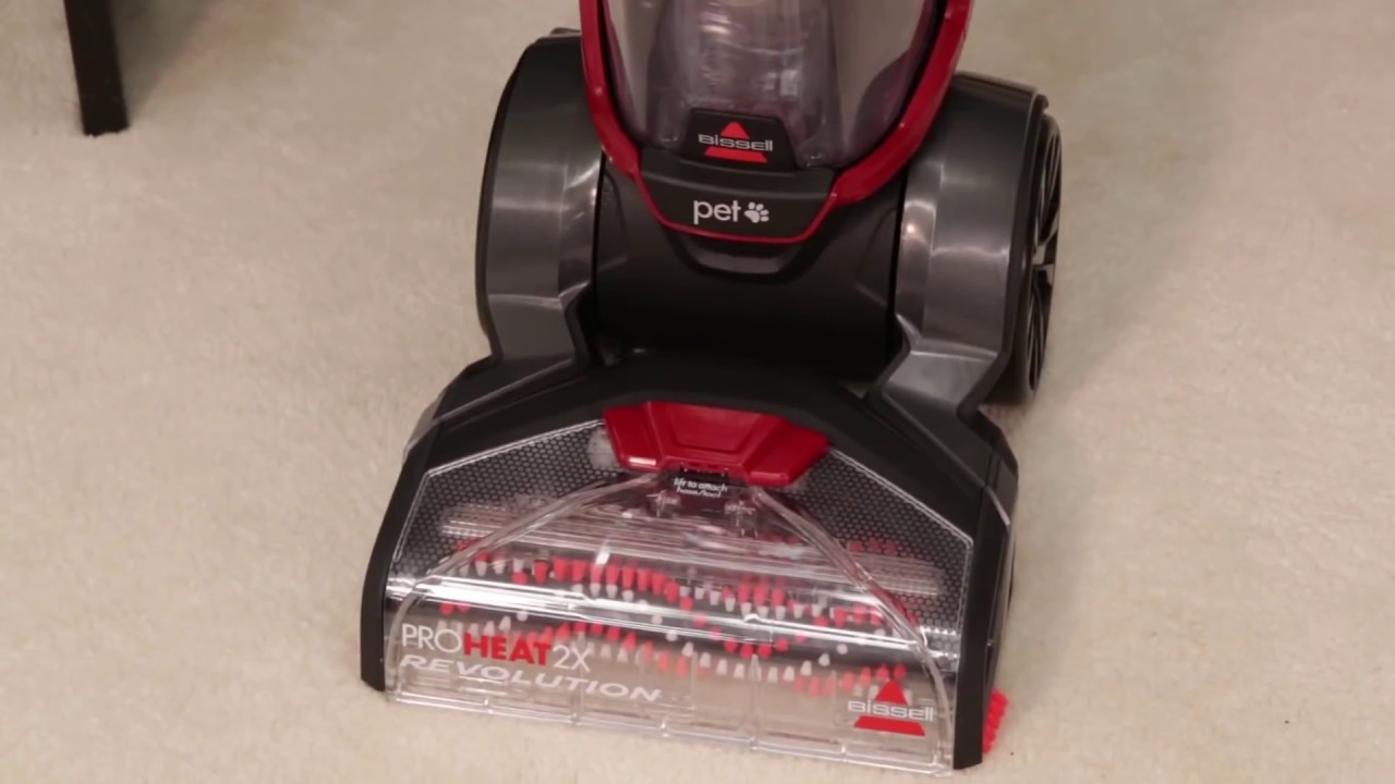 Bissell Proheat 2x Revolution Troubleshooting Youtube