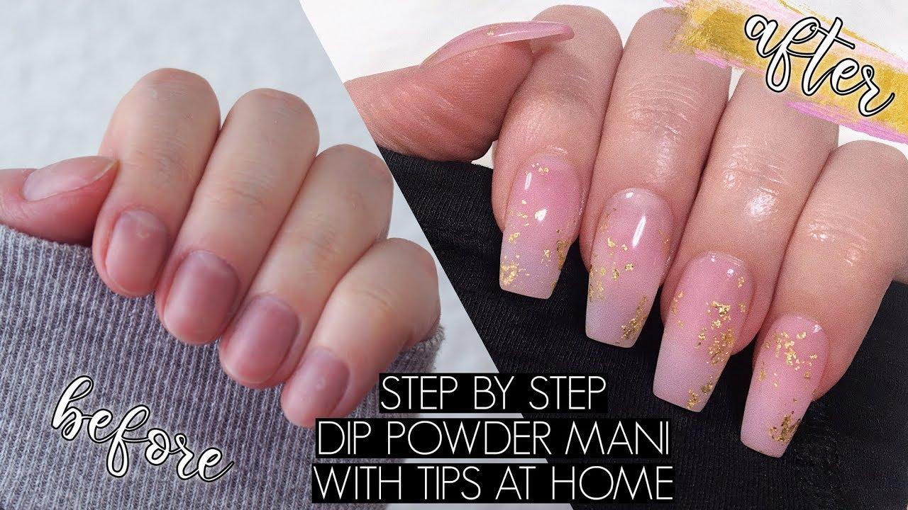 Powder Dip Nails | Nail Courses | Scottish Beauty Academy