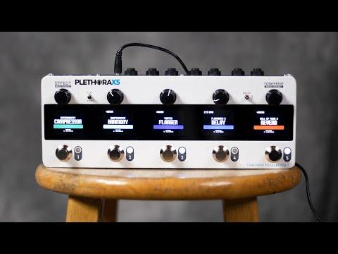 TC Electronic Plethora X5: 127 TonePrint Pedalboards in 1!