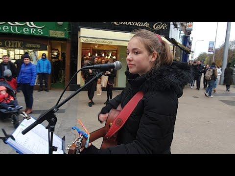 Allie Sherlock Live On Grafton Street Dublin Ireland