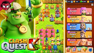 WE PLAY CLASH QUEST, THE NEW SUPERCELL GAME
