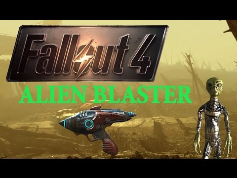 Fallout 4 - Alien Blaster Location (IT FELL FROM THE SKY!) - GG