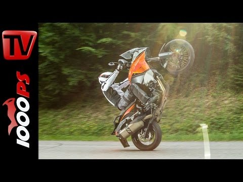 KTM 1190 Adventure - Test | 5 Meinungen - 1 Bike | Stunts, Action, Sound