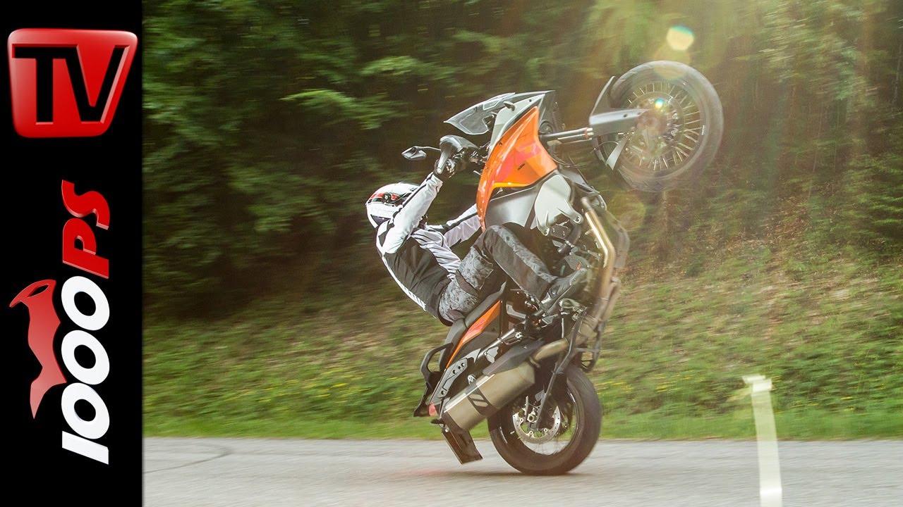 Download KTM 1190 Adventure - Test | 5 Meinungen - 1 Bike | Stunts, Action, Sound