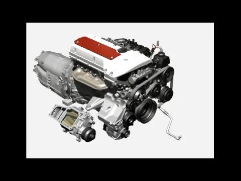 Mercedes W203 Kompressor Engine M111