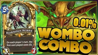 Hearthstone - WOMBO COMBO - WTF Moments - Funny and Lucky Plays