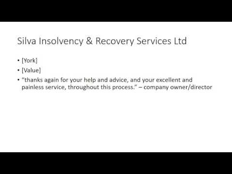 What to do about your insolvent company