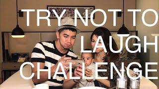 TRY NOT TO LAUGH CHALLENGE: AMAR BAHARIN Vs  AMYRA ROSLI // Vlog 12