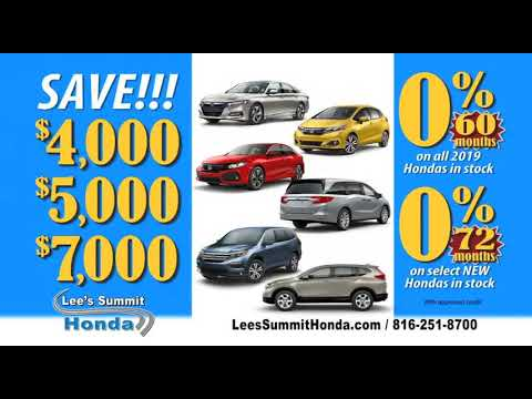 Honda Dealership Kansas City >> Best Honda Deals In Kansas City Lee S Summit Honda