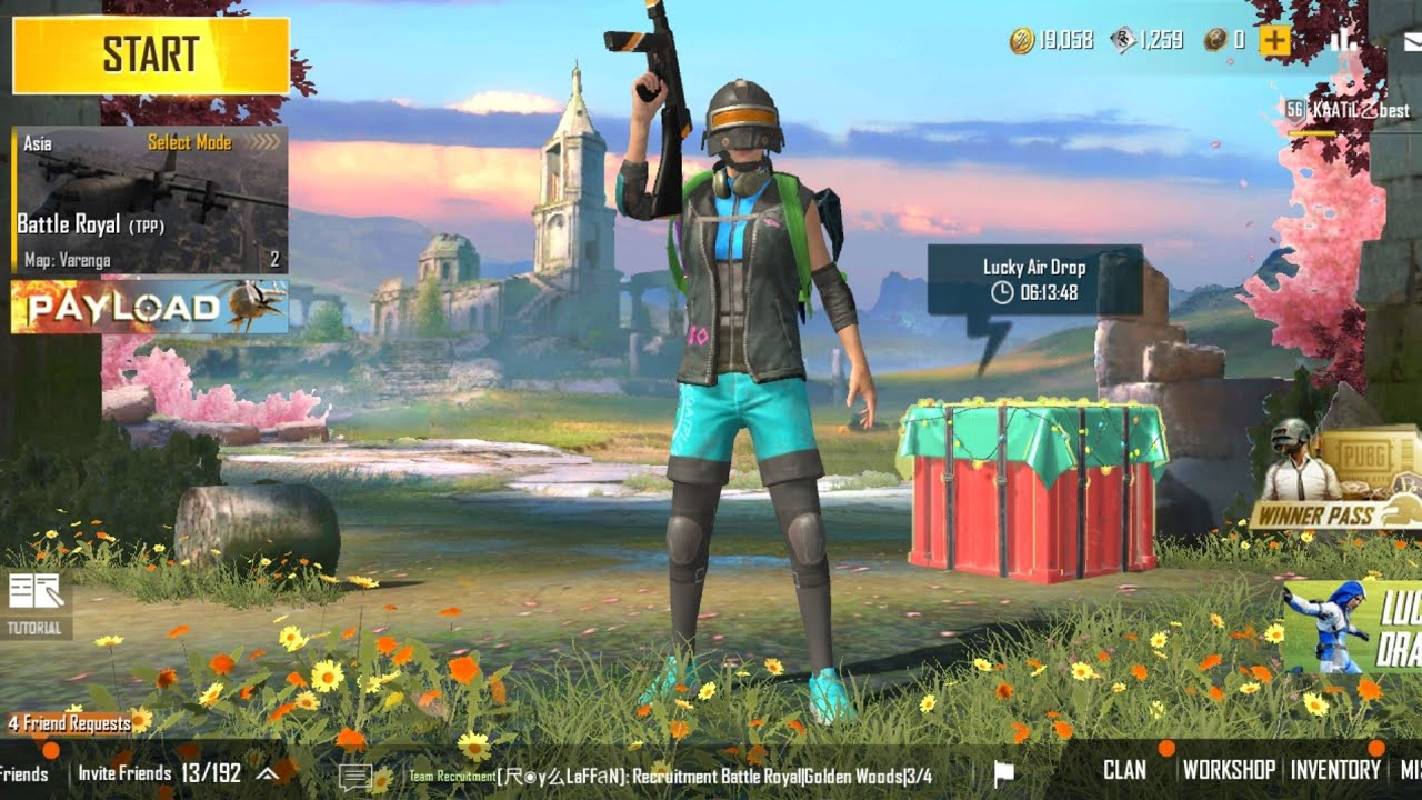 PUBG Mobile Lite Live Stream | Road To 2k Subscriber | #pubg
