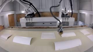 Антропоморфный робот для отделки iGiottoApp X2 с 6 осями Cefla