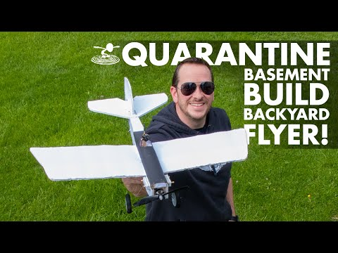 Josh' Basement Build ⚡️ Backyard Flyer! | Quarantine Project #1
