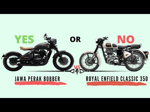 Bike Review - Jawa Perak Bobber & Royal Enfield Classic 350cc Comparison