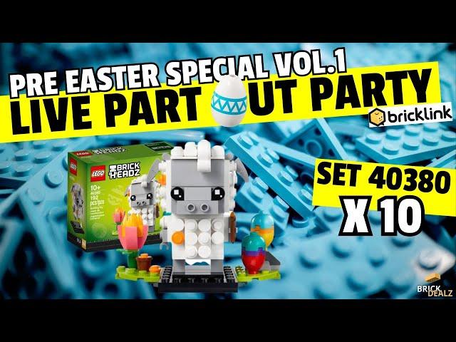 LIVE PART OUT PARTY Vol.1| LEGO® 40380 Osterlamm x10 |