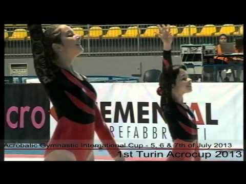 1st Turin Acrocup - Acrobatic Gymnastic International Cup - Day 2 - part 2