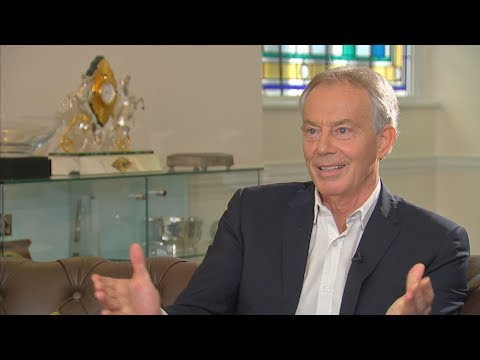 """Tony Blair: """"absolutely necessary"""" that Brexit doesn't go ahead"""