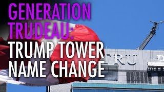 Toronto millennials cheer de-Trumping of Trump Tower