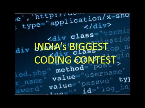INDIA''S BIGGEST CODING CONTEST