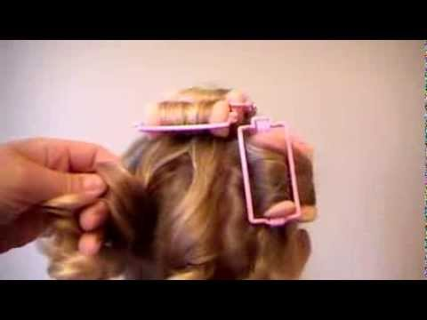 How to use sponge rollers for spiral curls