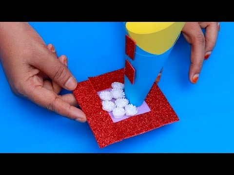SIMPLE LIFE HACK WITH COLOUR PAPER | DIY PAPER CRAFT | CREATIVE COLOUR PAPER CRAFT IDEA
