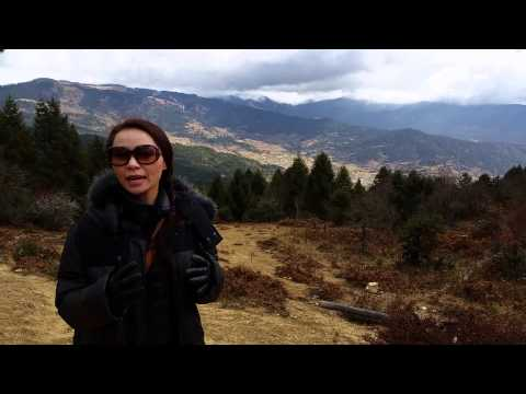 Travelling with Lynette: The hills are alive too... in Bhutan!