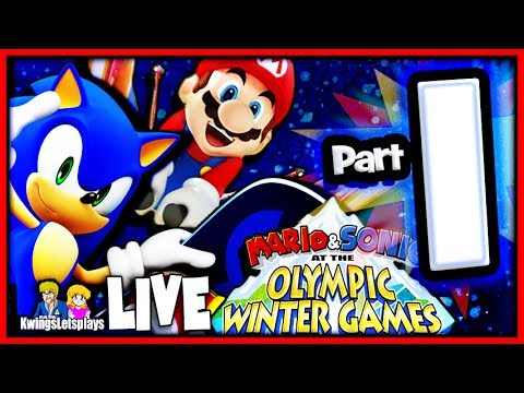 Mario & Sonic at the Sochi 2014 Winter Olympic Games Sonic Stage Medley!