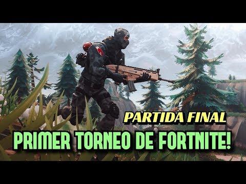 Primer Torneo de Fortnite en Vivo - Partida Final