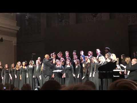 Herron High School Advanced Choir sings Carol of the Bells