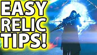 Destiny Tips: HOW TO USE THE RELIC! Vault of Glass Relic Controls