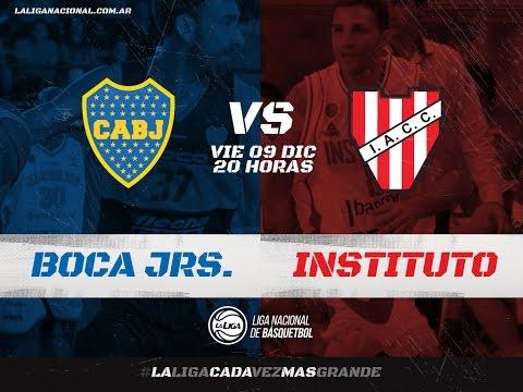 Liga Nacional: Boca vs. Instituto | #LaLigaEnTyC
