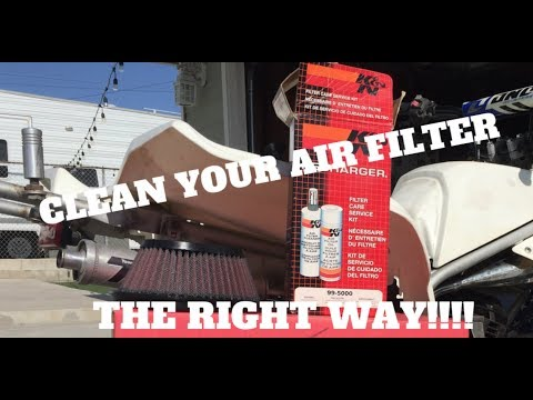 TECH TIP* HOW TO CLEAN YOUR ATV AIR FILTER . THE *RIGHT* WAY