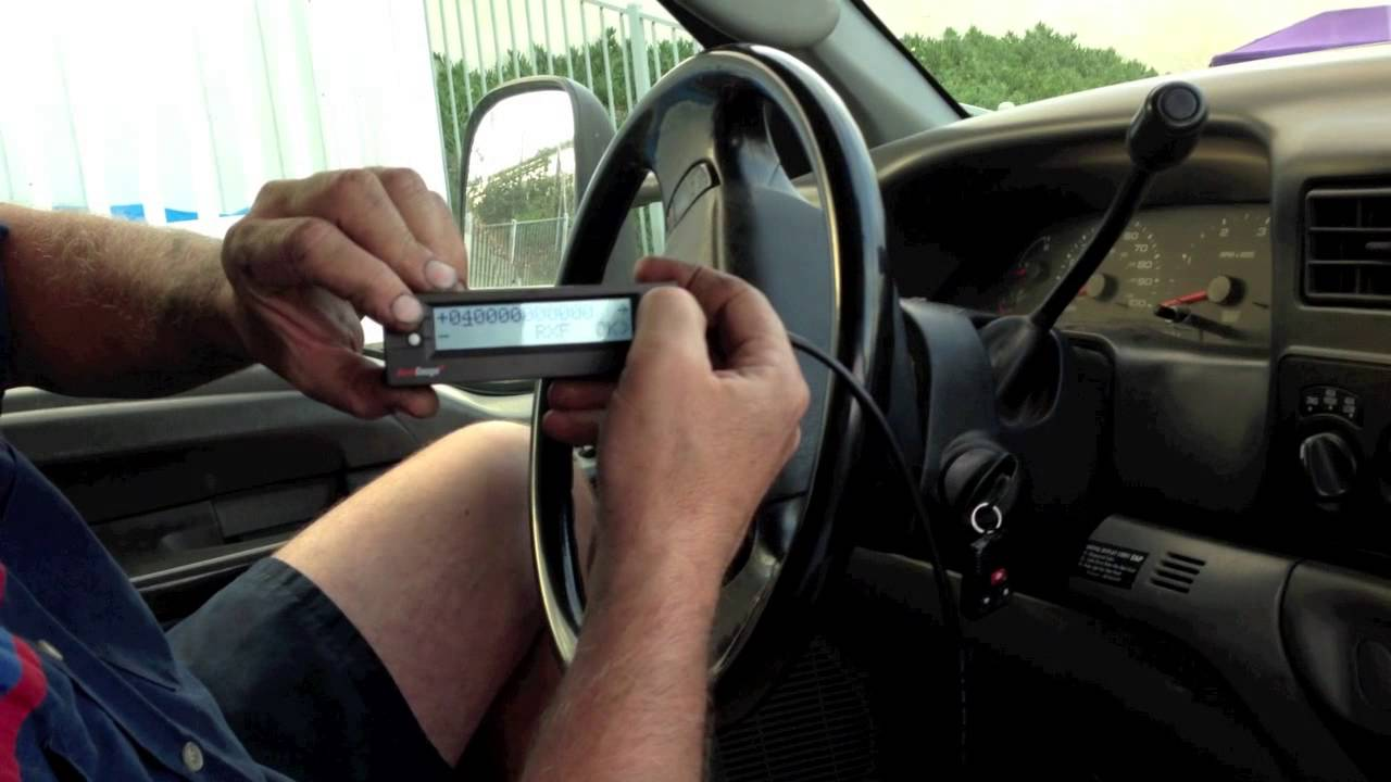 HOW TO PROGRAM YOUR SCANGAUGE FOR THE FORD 60 POWERSTROKE DIESEL AND MONITOR ESSENTIAL PIDS