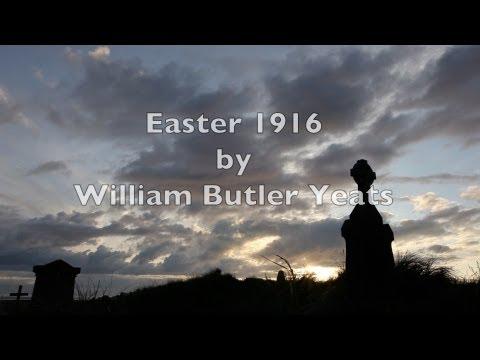 """Easter 1916""-WB Yeats-Best Irish Poetry-Ireland-Inspirational Historical Poem-Classic Verse Poetry"