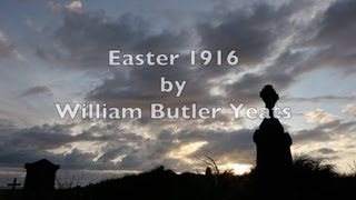 """Easter 1916""-WB Yeats-Best Irish Poetry-Ireland-Inspirational Historical Poem-Classic Verse Poetry"