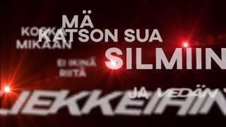 Raaka-Aine - Mikään Ei Riitä feat. Nikke Ankara (Official Lyrics Video)