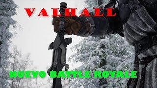 VALHALL Trailer gameplay 2018 | NUEVO BATTLE ROYALE MEDIEVAL