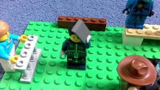 Лего 5 ночей с Фредди Жизнь Джерими серия 2