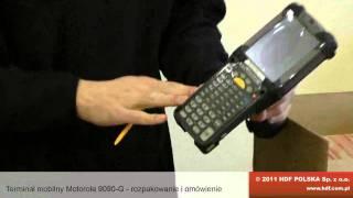 видео Терминал сбора данных Motorola Symbol MC9590