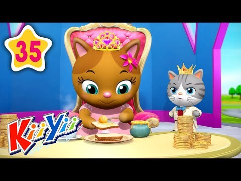 sing-a-song-of-sixpence-|-abcs-and-123s-|-by-kiiyii-|-nursery-rhymes-&-kids-songs