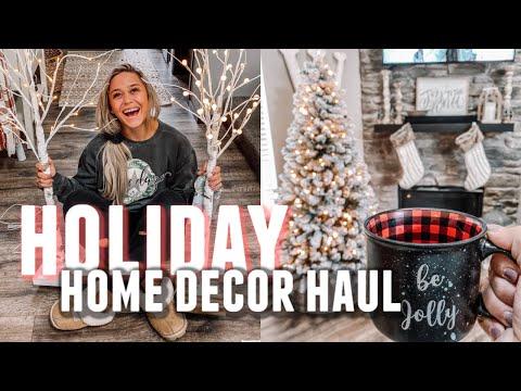 SHOP WITH ME: HOLIDAY FARMHOUSE HOME DECOR 2019!