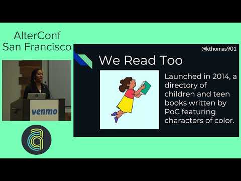 AlterConf San Francisco 2017: Creating Apps to Benefit Marginalized Communities by Kaya Thomas