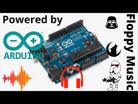 Floppy Music powered by Arduino