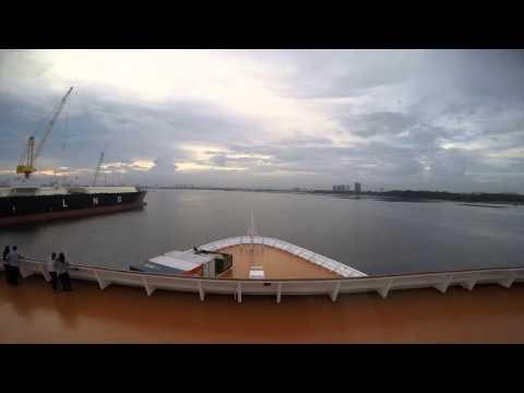 Singapore to Sembawang Drydock