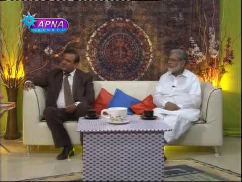 Hassan Abbasi Guest Apna Channel with Nisho