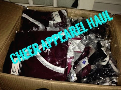 CHEER APPAREL HAUL 2016-2017 SEASON